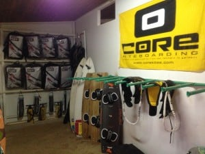 Core Kites and Carved Kiteboards